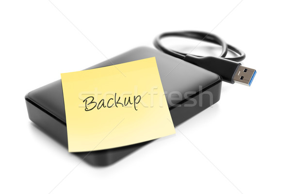 external hard drive Stock photo © magann