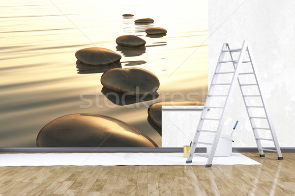 photo mural Stock photo © magann