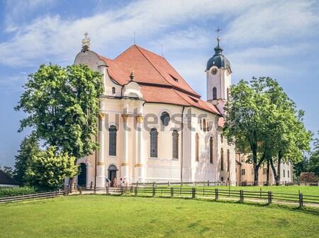 Wieskirche in Bavaria Germany Stock photo © magann