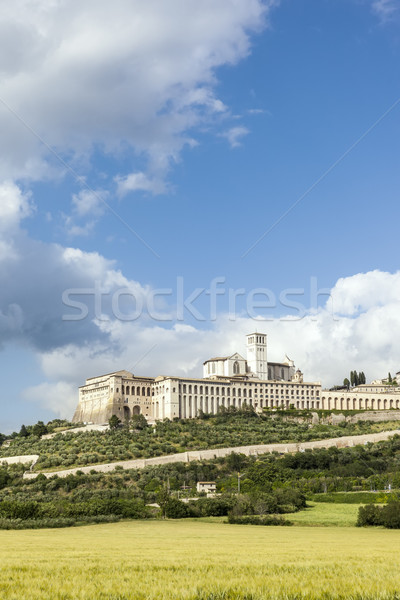 Assisi in Italy Umbria Stock photo © magann