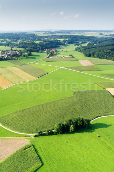 flight over Bavaria Stock photo © magann