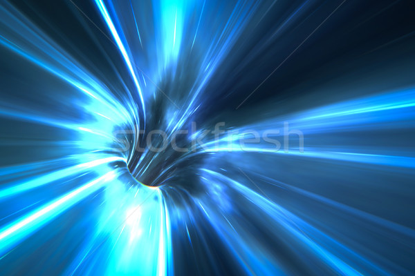 warp tunnel in space Stock photo © magann