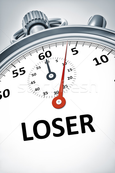 stopwatch with text loser Stock photo © magann