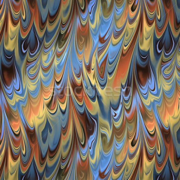 Soyut renkler kâğıt örnek dizayn boya Stok fotoğraf © magann