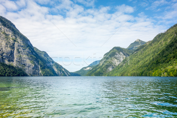 Koenigssee Berchtesgaden Stock photo © magann