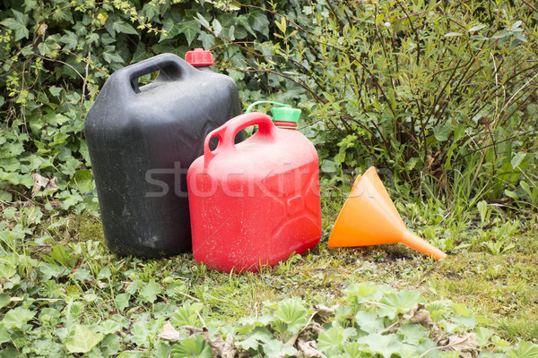 two canister Stock photo © magann