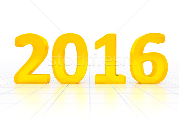 New Year 2016 Stock photo © magann