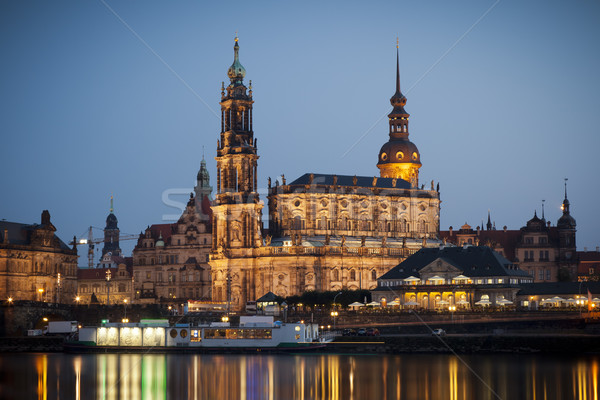 Hofkirche Dresden Stock photo © magann
