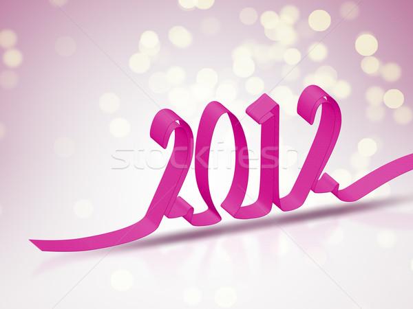 2012 bokeh background Stock photo © magann