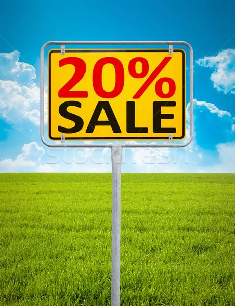 20 percent sale Stock photo © magann