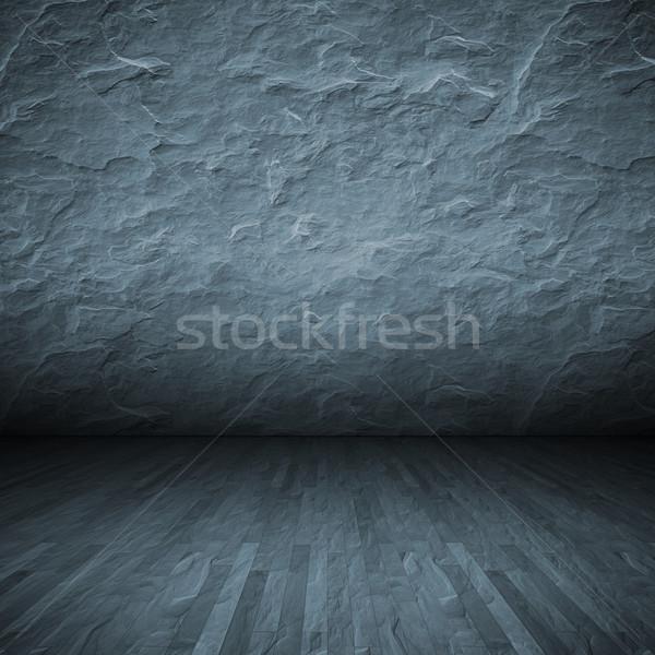 dark floor Stock photo © magann
