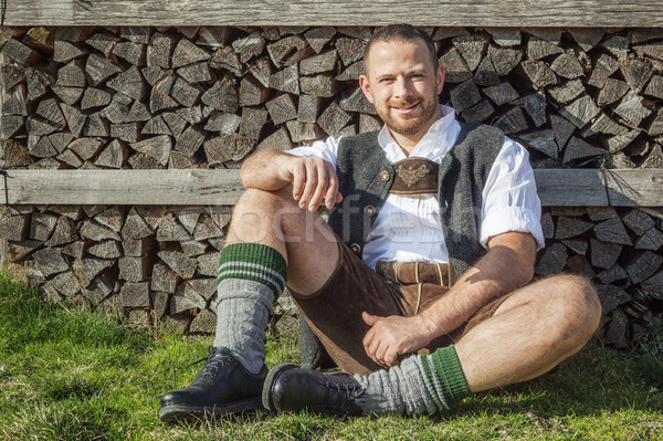 Bavarian tradition Stock photo © magann