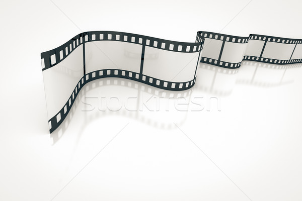 Filmstrip afbeelding mooie textuur licht ontwerp Stockfoto © magann