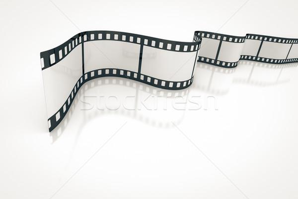 Bande de film image Nice texture lumière design Photo stock © magann