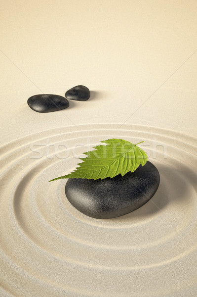Stock photo: Zen background