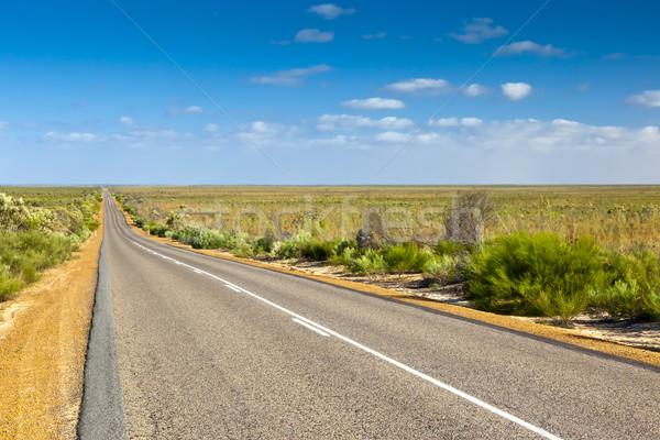 Route image désert Australie texture Voyage Photo stock © magann