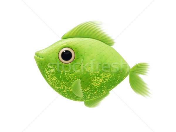 green fish Stock photo © magann