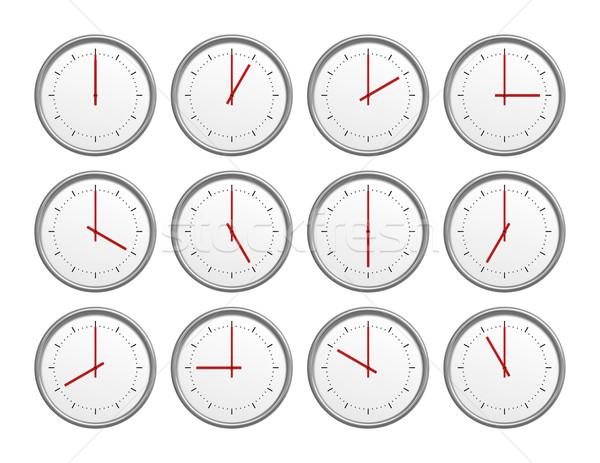 12 clocks Stock photo © magann