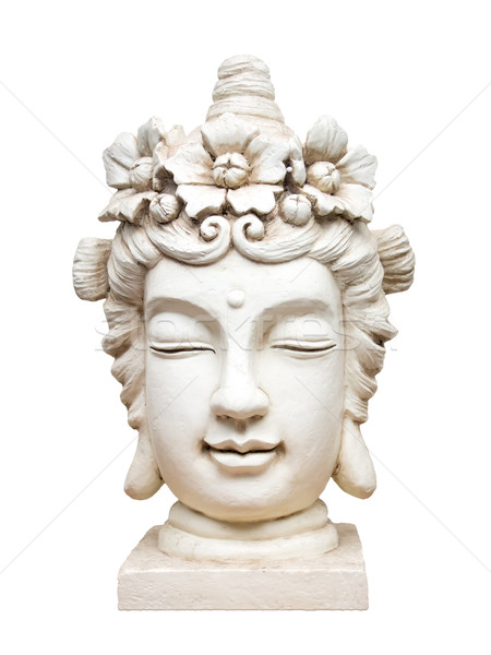buddha face sculpture Stock photo © magann