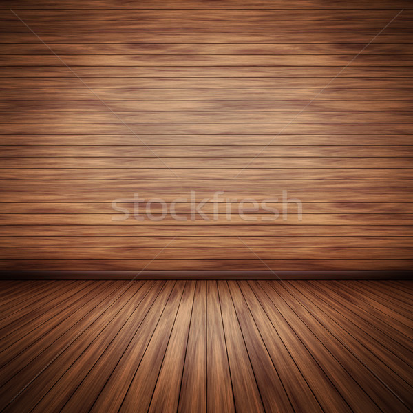 wooden floor Stock photo © magann