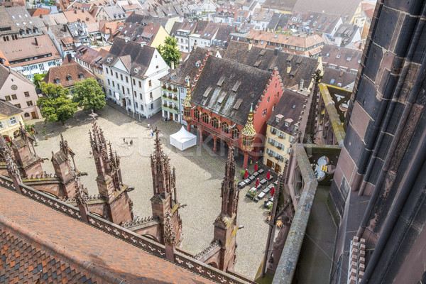the market Freiburg Germany Stock photo © magann