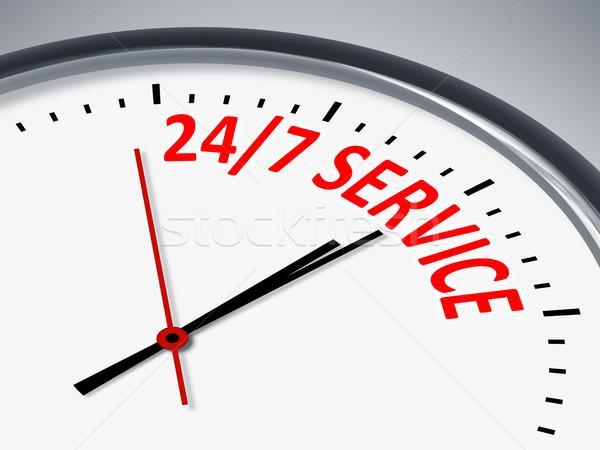 24 7 Service Stock photo © magann