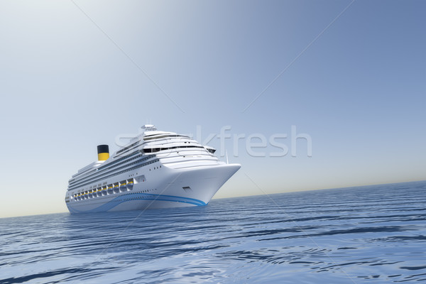 cruise ship Stock photo © magann
