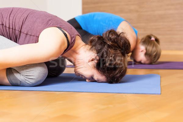 Yoga Exercise Stock photo © magann