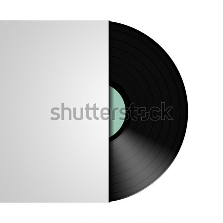 typical vinyl record Stock photo © magann
