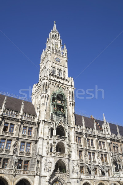 the famous city hall in Munich Stock photo © magann
