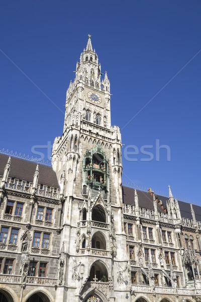 Célèbre ville salle Munich image ciel Photo stock © magann