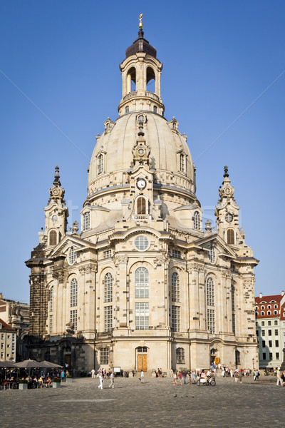 Frauenkirche Dresden Stock photo © magann