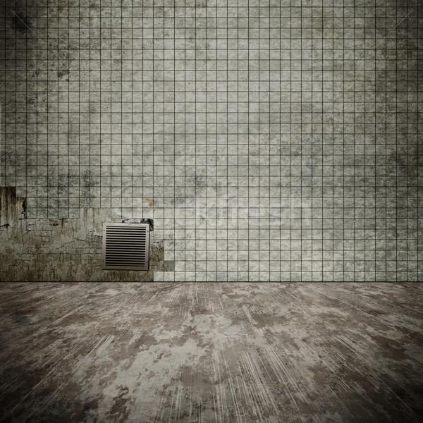 Kirli bodrum görüntü eski ev duvar Stok fotoğraf © magann