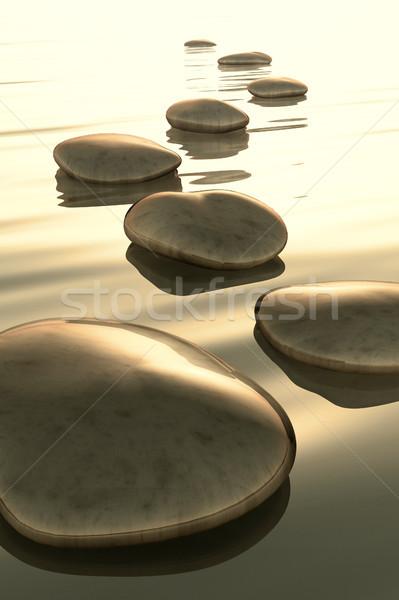 step stones Stock photo © magann