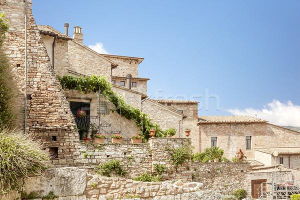 типичный домах Италия изображение вино домой Сток-фото © magann