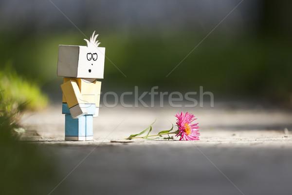sad character Stock photo © magann