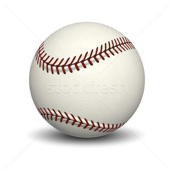 Stock photo: base ball
