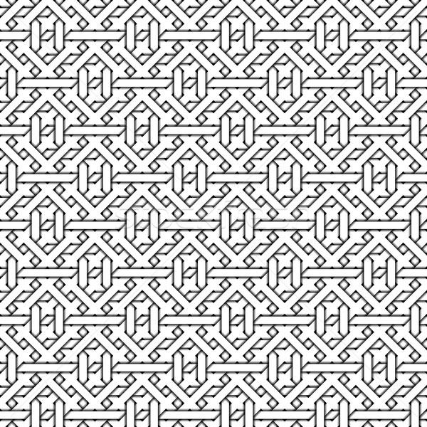 Abstract bianco nero texture illustrazione Foto d'archivio © magann