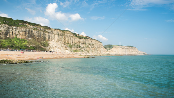 Beach of Hastings England Stock photo © magann