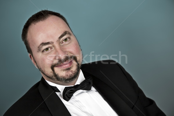 handsome man Stock photo © magann