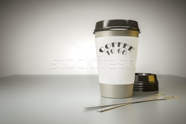 coffee to go Stock photo © magann
