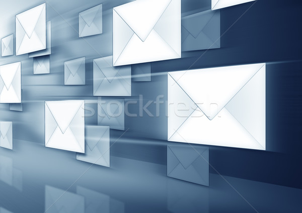Stock photo: envelopes