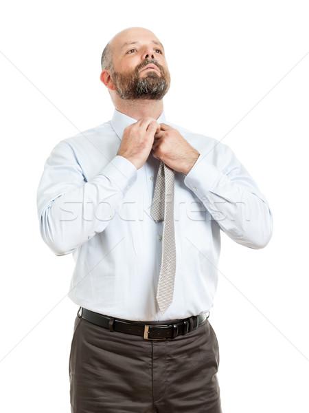 business man tie Stock photo © magann