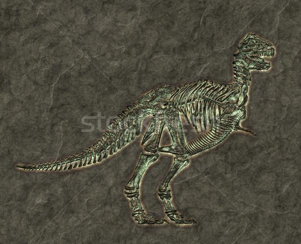 t-rex skeleton Stock photo © magann
