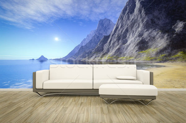 photo wall mural ocean Stock photo © magann