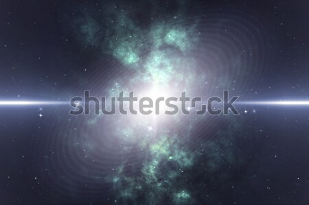 explosion in space Stock photo © magann