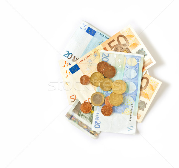 currency euro Stock photo © magann