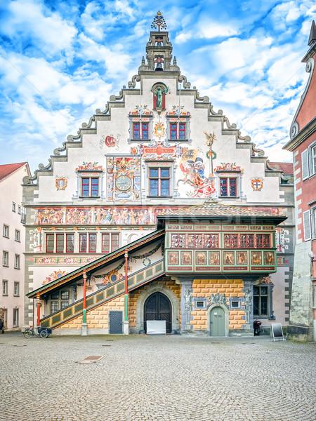town hall Lindau Germany Stock photo © magann