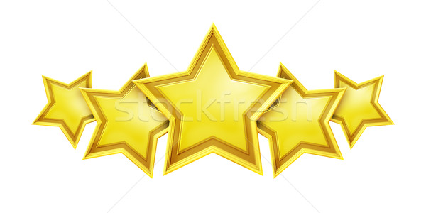 five star rating service Stock photo © magann