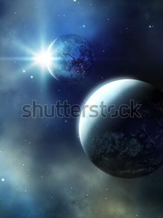 Planet Stock photo © magann